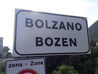 Bolzano, toch bereikt.