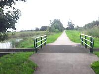 Jaagpad langs het .....kanaal.