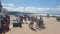 lunch met een prachtig uitzicht