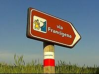 wegwijzer Francigena
