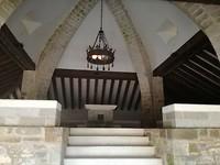 Open Kapel bij pelgrimsgraven  in Roncesvalles