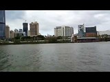 11 nov. 2017 - Brisbane downtown met boot Cityhopper