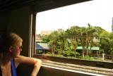In de trein van bkk naar ayuthaya
