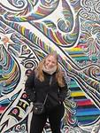 Lynn voor de Berlijnse muur