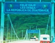 grensovergang Guatemala to El Salvador