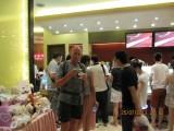 Haagen Dasz-ijsje ter afscheid van Xi'an