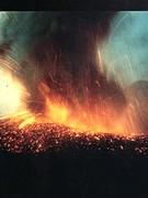 Uitbarsting Vulkaan Lonquimay 1988