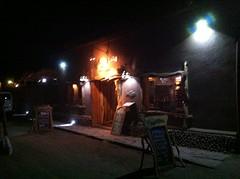 San Pedro by night