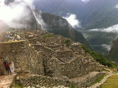 komt zicht op Machu Picchu