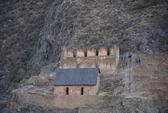 Ruines in de bergen