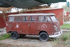 VW busje Maria Reiche