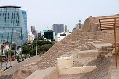 Lima, Miraflores ruïne