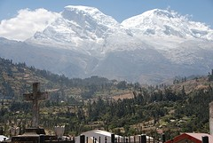 Dé Huascaran, hoogste berg Peru