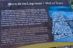 Herdenking 'Mura del Lagrimas'
