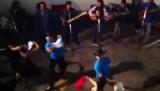 Prachtige dans muziekvoorstelling Sucre, Bolivia