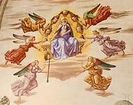 Fresco in Santa Croce