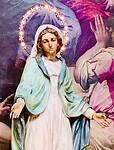 Maria beeld Santa Croce