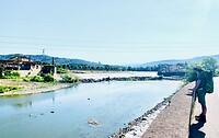 Waterval in de Arno