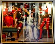 Schilderijen in museum van de kathedraal