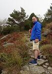 Guus op de berg