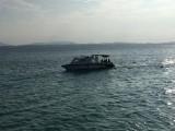 Onze taxi terug naar mainland