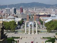 10 Vanaf Museu Nacional D'Art de Catalunya