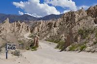 Van La Paya naar Cafayte: nog 4406 km naar zuid Argentinië