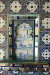 Delfts Blauw als een van de rijkdommen in City Palace Udaipur