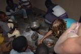 Koken met de familie van Fredson