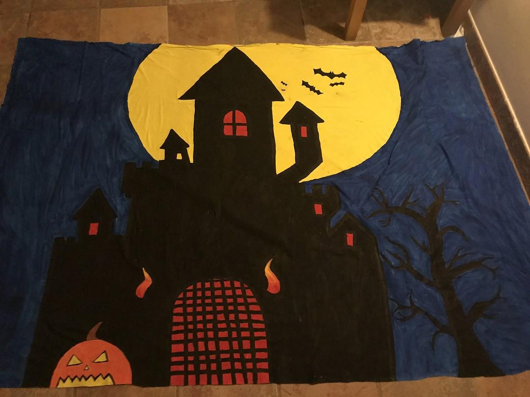 Voorbereiding Halloween