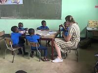 Lesgeven bij de kleuters