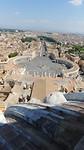 Vaticaan plein vanaf boven