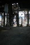 Vervallen site van het mijnbedrijf Gécamines
