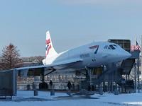 Ook de Concorde staat hier