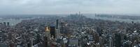 View op Lower Manhattan vanaf Empire State Building