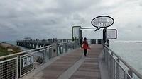 de South Point Park Pier van Miami Beach