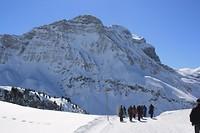 de grootsheid van de prachtige Oostenrijkse alpen