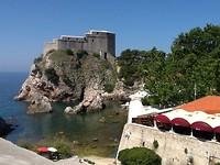het kasteel van Dubrovnik