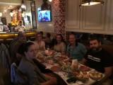 Dineren in Iberico met delegatie