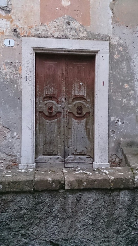 Just a door in Artena