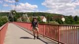 Te voet van Frankrijk naar Duitsland