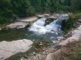 Langs rivier de Ergolz richting Liestal in Zwitserland