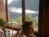Dal, bergen én wolken