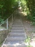 Trapje op trapje af
