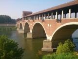 Brug over de Ticino in Pavia