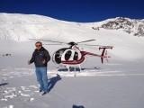 Op de Fox Glacier