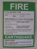Earthquake waarschuwing