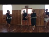 Maori's singing and dancing.