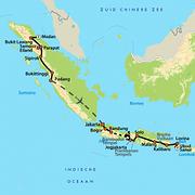 route rondreis Indonesie