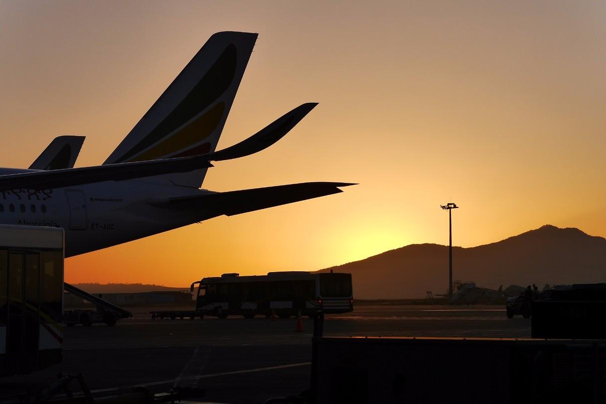 Sunrise in Addis Ababa